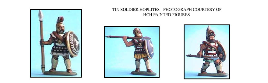 GREEK HOPLITE HEAVY INFANTRY